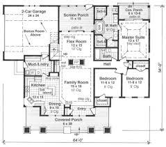 10 Car Garage Plans Craftsman Style House Plan 3 Beds 2 00 Baths 1866 Sq Ft Plan 51 514
