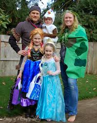 Family Of 3 Halloween Costume by Diary Of A Crafty Lady Happy Halloween From The Frozen Family 2014