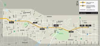 Metro Lines Map by Gold Line Foothill Extension Preview Ride From Pasadena To Azusa