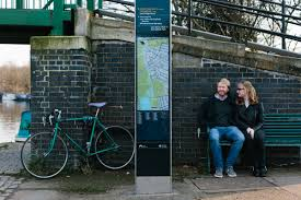 Nick Lee Architecture by Ruth Nick North London Canal Walk Pre Wedding Shoot