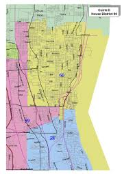 Google Maps Illinois by 2011 Adopted Maps Illinois Redistricting