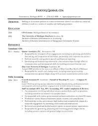 Tax Accountant Sample Resume by Resume Cpa Sample Resume