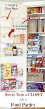 How To Organize Your Kitchen Cabinets by Best 25 Pantry Closet Ideas On Pinterest Pantry Closet