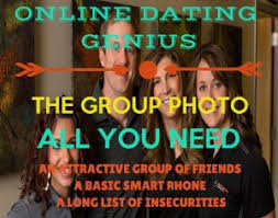 Online Dating Genius  The Group Picture   Project Soulmate Let     s talk about this important DON     T in online dating  pictures with friends