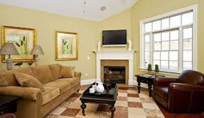 Brown And Yellow Living Room by Nice Color To Paint Room Comfy Home Design