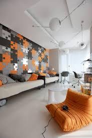 171 best orange interiors images on pinterest orange walls
