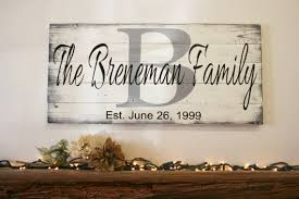 Personalized Signs For Home Decorating A Beautiful Piece For You Home To Be Cherished For Years To Come