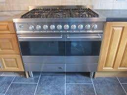 britannia range cooker si 10t6 e s stainless steel dual fuel