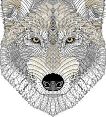 Wolf Mural by Mobify Wolf Den Boardroom Mural On Behance