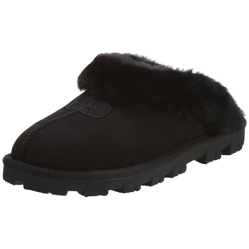 UGG Australia Coquette Black Slippers 5125-BLK