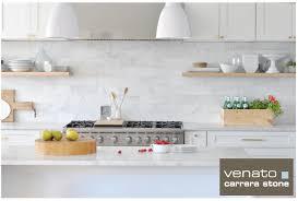 SF Carrara Venato Marble Honed X Subway Floor And Wall Tile - Carrara tile backsplash