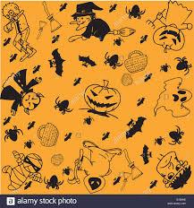 halloween vector art halloween doodle art stock vector art u0026 illustration vector image