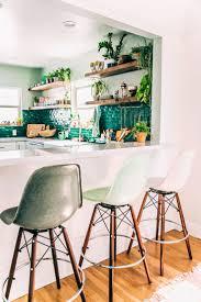 Interior Decoration Of Kitchen Best 25 Green Kitchen Walls Ideas On Pinterest Green Paint