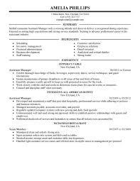 Sample Test Manager Resume by Download Resume For Restaurant Manager Haadyaooverbayresort Com