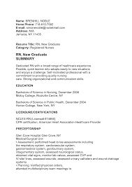 Oncology Nurse Resume Objective Resume Registered Nurse Templates For Nurses Lpn Exeptional New