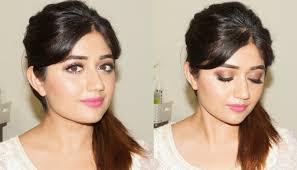 glamorous natural makeup tutorial for indian skin clista you