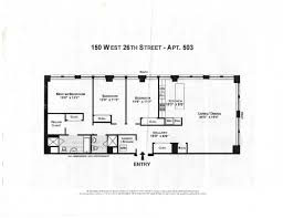 New York Apartments Floor Plans by 150 West 26th Street 503 New York Ny 10001 Realdirect