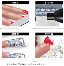 how to remove gel nail polish oh my nail polish