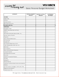 Sample Home Budget Spreadsheet Simple Monthly Budget Worksheetmemo Templates Word Memo