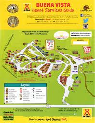 Colorado Unit Map by Buena Vista Colorado Area Attractions And Activities Buena Vista Koa