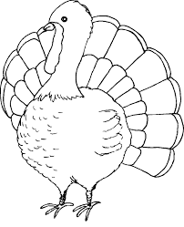 kids easy thanksgiving coloring pages printables holidays