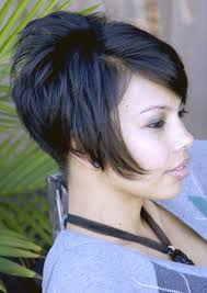 very short stacked bob hairstyle picture magz