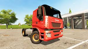 iveco stralis 470 lowcab v1 2 3 for farming simulator 2017
