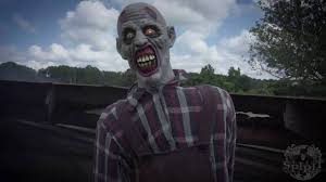 zombie farmer animatronic spirit halloween youtube