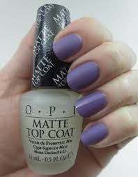 frazzle and aniploish opi matte topcoat and comparisons