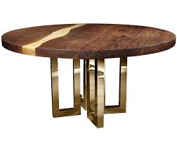 il pezzo 6 round table contemporary traditional mid century