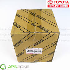 lexus cardboard sedan genuine lexus gs350 is250 is350 2wd lh front axle hub sub assy oem