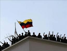 La Guarda de Honor toma el palacio de Miraflores