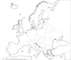 Political Map Europe by Free Printable Maps Of Europe
