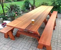 Building Plans For Picnic Table Bench by 100 Plans To Build A Children S Picnic Table Exteriors