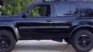 nissan frontier jacked up my lifted blacked out xterra youtube