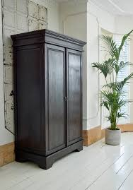 keraton carved wardrobe colonial style hand crafted dark teak