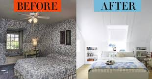 Bedroom Makeovers Bedroom Before And Afters - House beautiful bedroom design