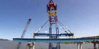 tappan zee bridge u0027s super crane taking a break