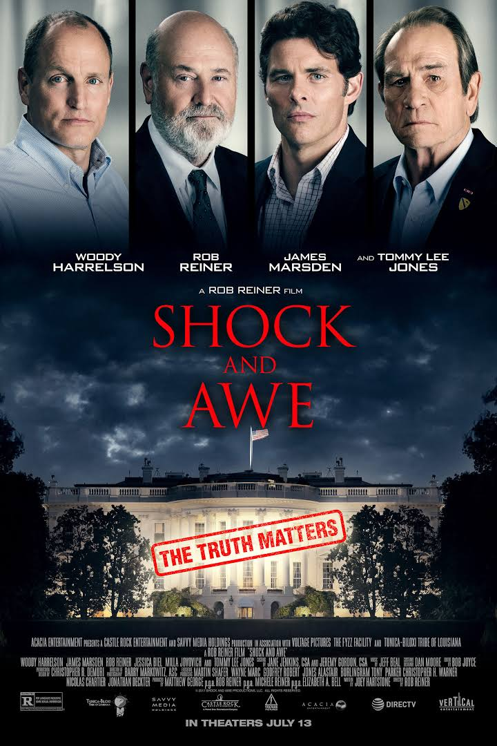 Shock and Awe 2017 Full Movie Download BluRay 480p 380MB And 720p 800MB