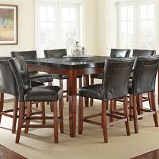 Steve Silver Dining Room Furniture Steve Silver Company Mg5454pt Granite Bello Square Counter Height