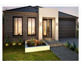 Modern Concrete Home Plans And Designs Amazing Designs Of Home Garden Green Lawn And Comfy Outside Chairs