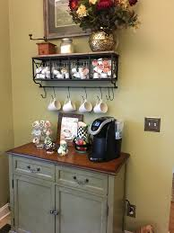 coffee bar shelf from hobby lobby cabinet from pier one decor