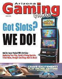 Desert Diamond Casino Buffet by Arizona Gaming Guide Magazine January 2016 08 01 By Arizona