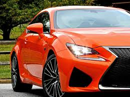 lexus rc coupe orange lexus rc f review the best gt car for the money mind over motor
