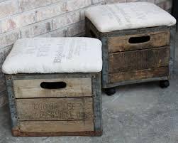 milk crate ottoman milk crates crates and ottomans