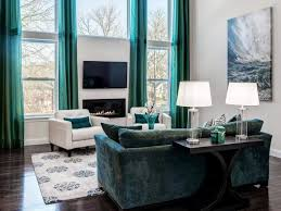 Turquoise And Green Lounge Room Ideas Turquoise And Brown Living Room Ideas Cream Floral Pattern Fabric