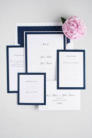 Making Wedding Invitation Cards Best 25 Blue Wedding Invitations Ideas On Pinterest Navy