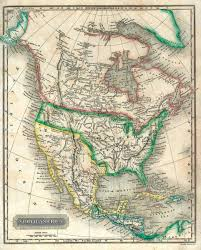 N America Map by Honors American 1 Historical Maps Of The United States Of America