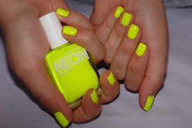 get bright nail art with neon nail polish graham reid
