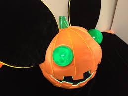 Deadmau5 Costume Halloween Epic Deadmau5 Pumpkin Head Love